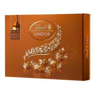 瑞士莲软心榛仁牛奶巧克力14粒装礼盒