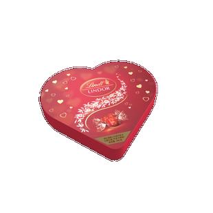 瑞士莲软心牛奶巧克力心形礼盒