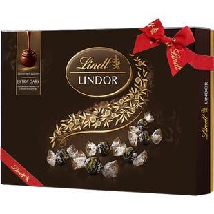 瑞士莲软心特浓黑巧克力14粒装礼盒