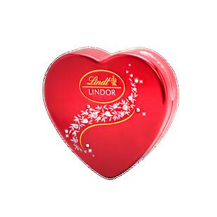瑞士莲软心牛奶巧克力8粒装心型礼盒