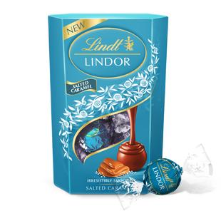 瑞士莲软心海盐焦糖巧克力分享装200g