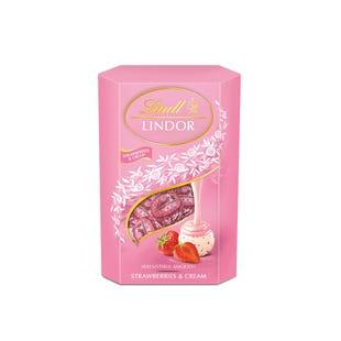 瑞士莲软心草莓奶油白巧克力分享装200g