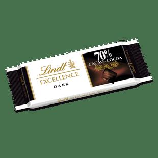 瑞士莲特醇排装70%可可黑巧克力35g