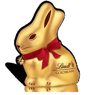瑞士莲小金兔形牛奶巧克力