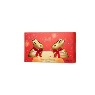 瑞士莲小金兔形牛奶巧克力礼盒