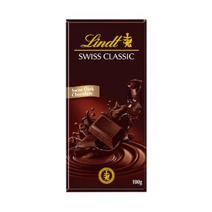 瑞士莲瑞士经典排装纯味黑巧克力