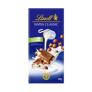 瑞士莲瑞士经典排装榛仁牛奶巧克力